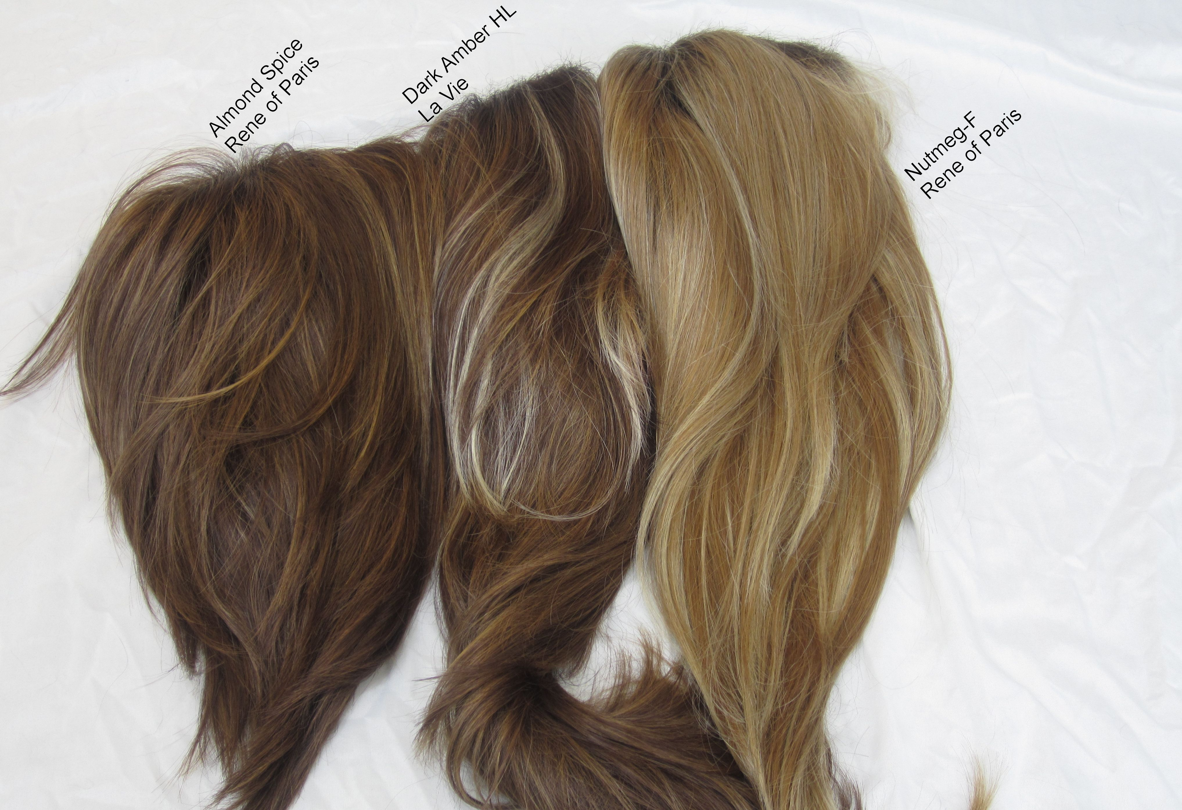 Wig color comparison pictures brunettes and redheads rene of group nvjuhfo Gallery